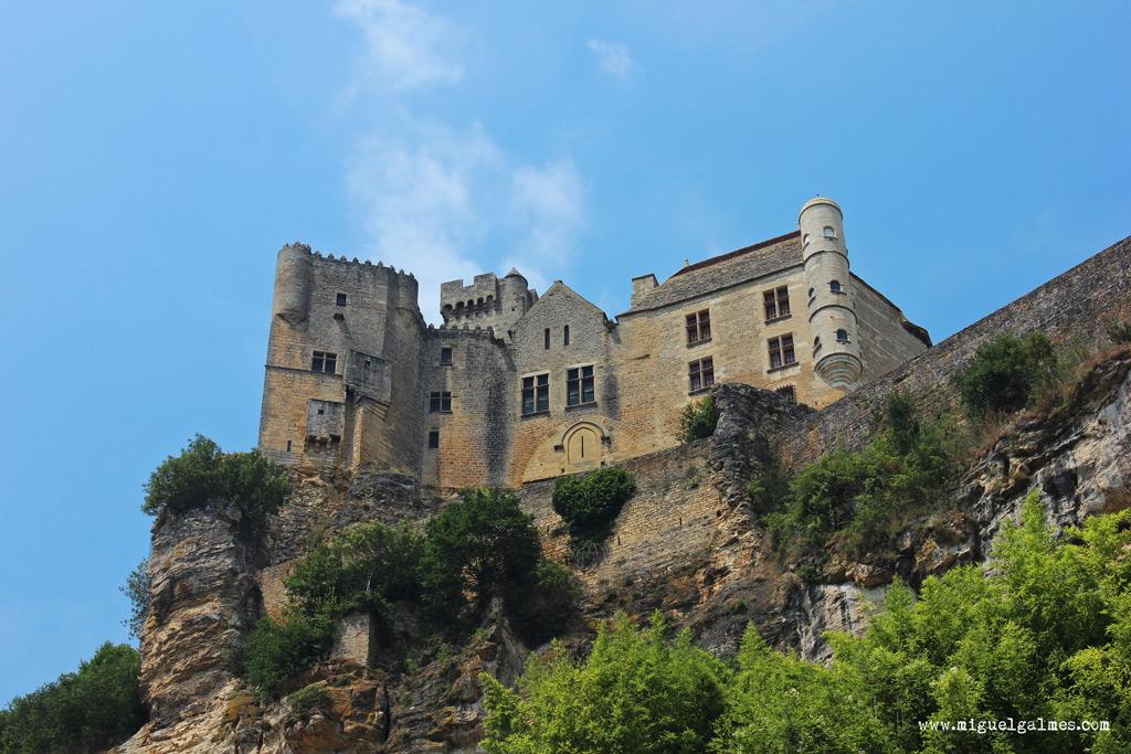 castillo de Beynac-et-Cazenac, región del Périgord Negro, Dordoña, Francia