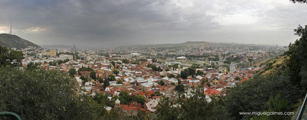 panorámica de Tbilisi