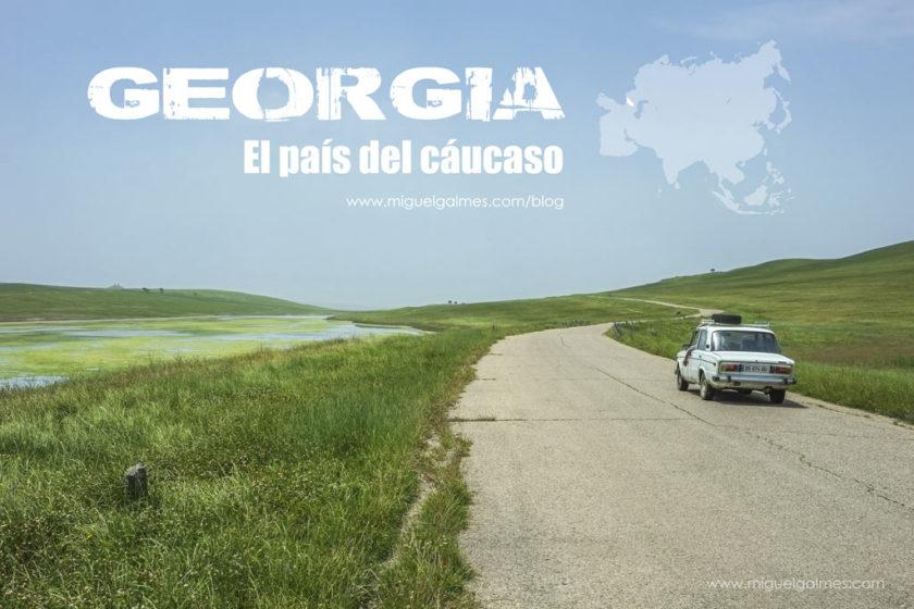 Georgia, el país del cáucaso.