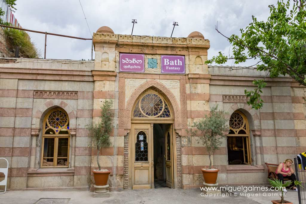 Baño termal, Tbilisi