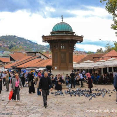 Sebilj. Sarajevo travel photos