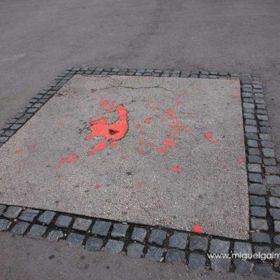 Sarajevo Roses. Sarajevo travel photos