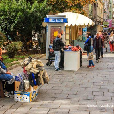 Ferhadija Street. Sarajevo travel photos