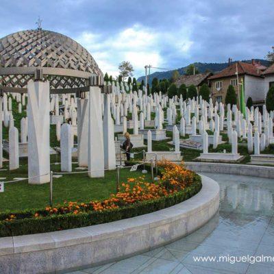 Kovaci Cemetery. Sarajevo travel photos