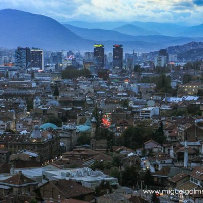 Sarajevo vantage point