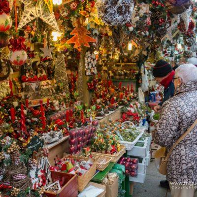 Christmas market of Santa Lucia, Barcelona