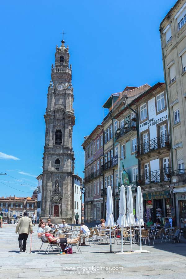Torre de los Clérigos.