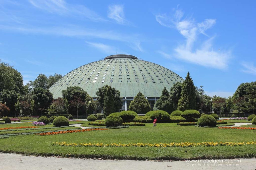 Cúpula del Palacio de Cristal.