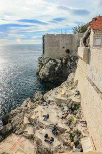 Bar en las murallas de Dubrovnik