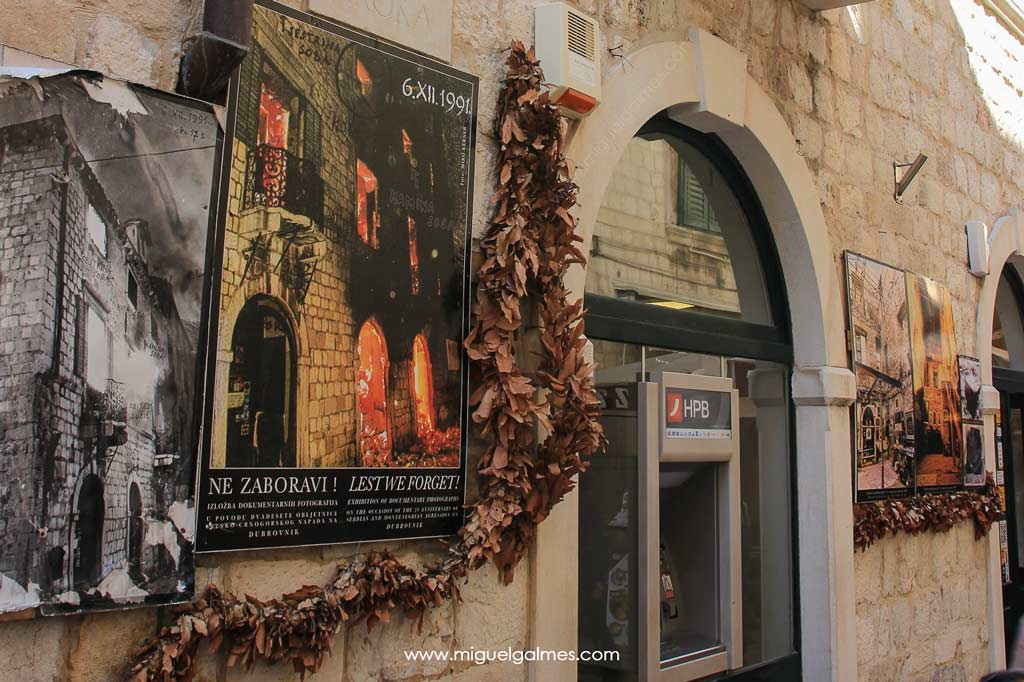 Edificio bombardeado, Dubrovnik
