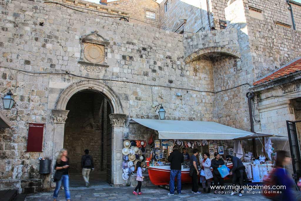 Puerta de Ploče, Dubrovnik