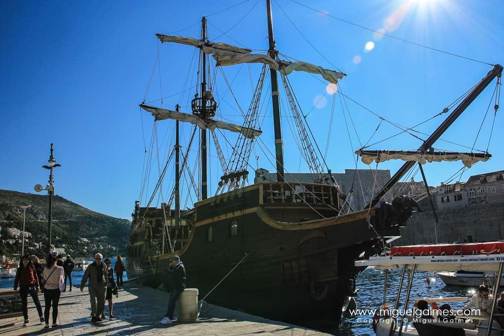 Caravela, puerto de Dubrovnik