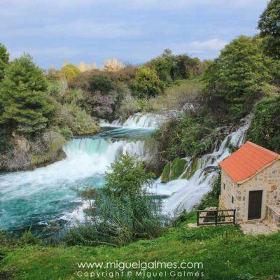 The Krka hydroelectric power plant, Krka National Park. Croatia,