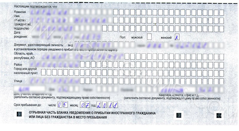 registro rusia