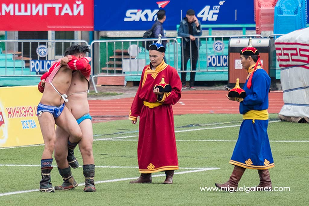 Wrestling, Naadam Festival