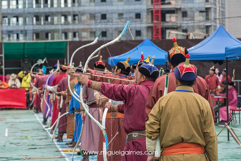 Archery, Naadam Festival, Mongolia 2018